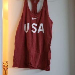 Nike USA tank top